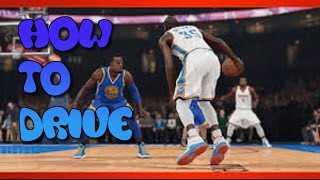 NBA 2K15 How To Drive/Get To The Basket Tips/Tutorials