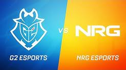 G2 Esports vs NRG Esports | RLCS Season 9 | NA Regional Championship