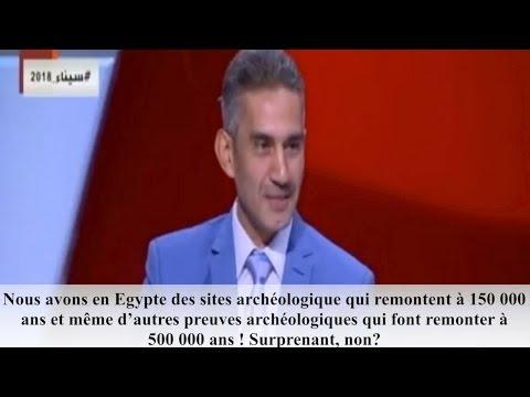 """""""En Égypte des sites archéologiques remontent à 150 000 ans"""" - Les langues se délient enfin!"""