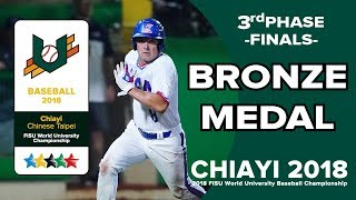 🔴ᴴᴰ世大棒::FINALS 銅牌戰::KORvsUSA:: 2018 FISU WORLD UNIVERSITY BASEBALL CHAMPIONSHIP