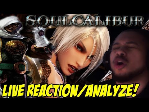 OMFG SO PRETTY! SoulCalibur VI - Ivy, Zasalamel And New Stage! LIVE REACTION/ANALYZE/TALK!