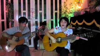 Xóm Đêm - Đệm hát Guitar