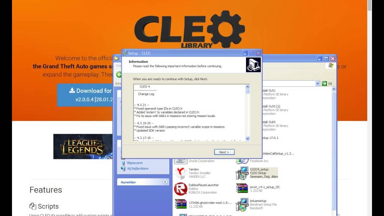 CLEO 4.1 TÉLÉCHARGER