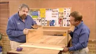 DIY Woodworking Projects - How To Build a Bookshelf