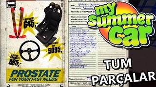 My Summer Car Türkçe PC - GELSİN TÜM PARÇALAR #22