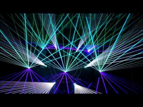 Laser Show - DJ Furax - I love orgus - ECS and Pangolin
