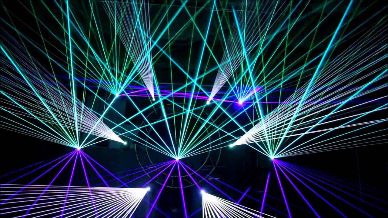 Laser Show Dj Furax I Love Orgus Ecs And Pangolin