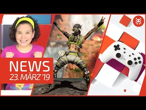 NEWS Google Stadia - Apex Legends - Nintendo Indies - Call of Duty Mobile - Overwatch thumbnail