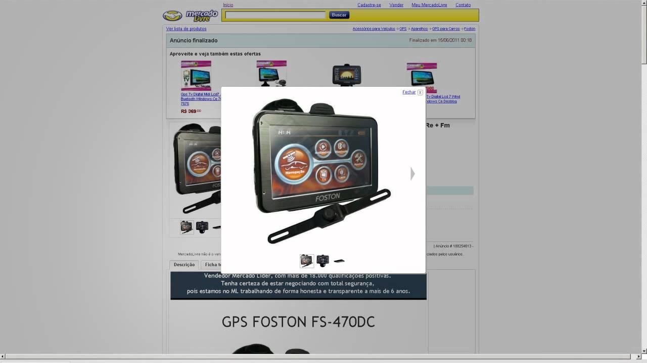 FS-470DC GPS BAIXAR 2014 FOSTON ATUALIZAO