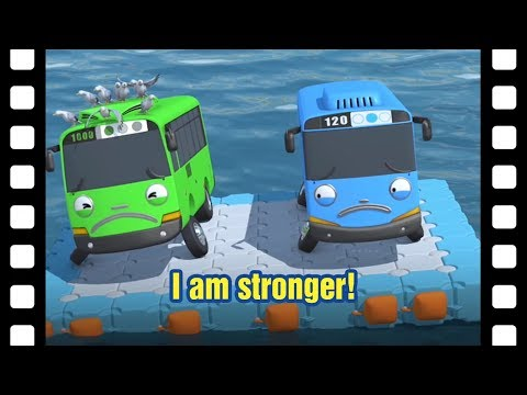 📽I am stronger! l Tayo's Little Theater #14 l Tayo the Little Bus