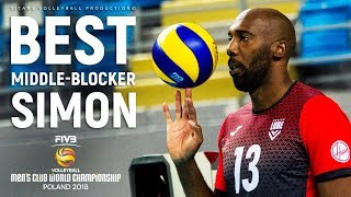 Robertlandy Simon Aties | Best Middle Blocker | FIVB Men CWCH 2018
