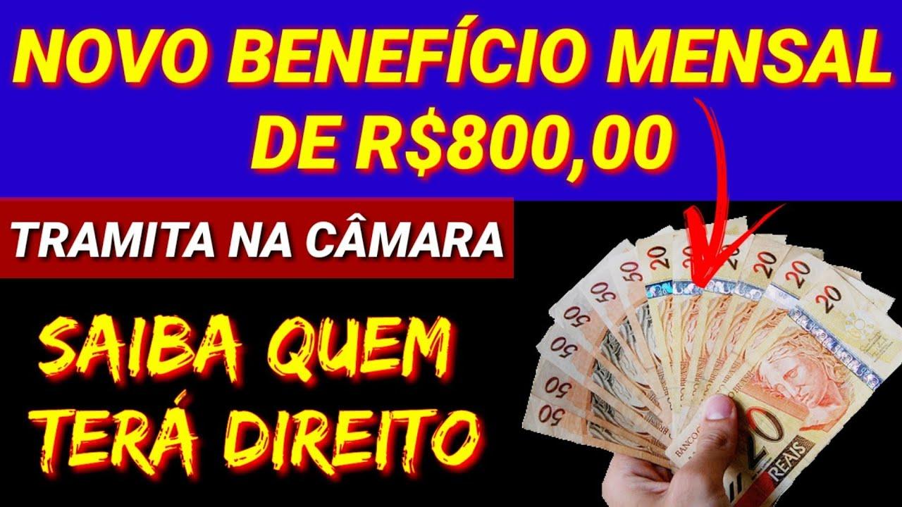 🚨NOVO BENEFÍCIO DE R$ 800,00 POR FAMÍLIA | SAIBA QUEM TERÁ DIREITO... Câmara dos Deputados