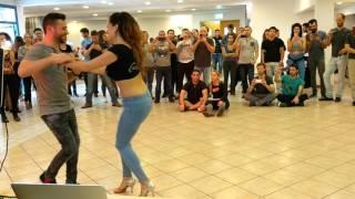 Daniel Galilii and Yenny Otero - Bachata Sensual - Israeli Sensual Festival 2017