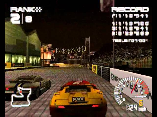 Ridge Racer Type 4 Full Grand Prix Walkthrough