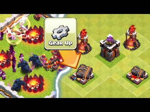 NEW TROOPS AND DEFENSES LEVELS | Clash of Clans | NEW Geared Up Cannon + Balance Update