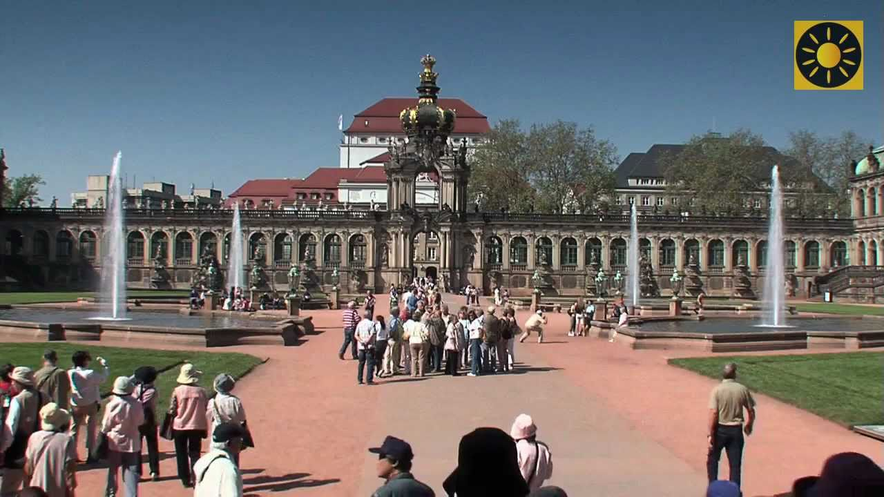 Dresden Die Zauberhafte Barockhauptstadt Deutschlands Teil 1 Semperoper Dresdner Zwinger Youtube