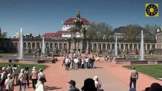"DRESDEN - die zauberhafte Barockhauptstadt Deutschlands - Teil 1 ""Semperoper - Dresdner Zwinger"""
