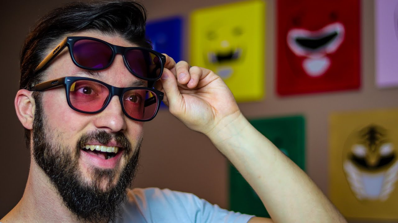 Indoor vs Outdoor Enchroma Glasses for Colorblind and Color Deficient: Seeing in Color - YouTube