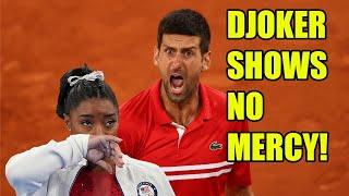 Novak Djokovic's words on PRESSURE for athletes seems to take a MASSIVE shot at Simone Biles!