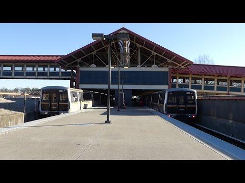 MARTA Transit: Hitachi CQ311 & FB/Hitachi CQ310/CQ311 Red Lines at Lakewood-Fort McPherson Station