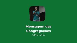 Culto online das Congregações    Mensagem  19/07/2020