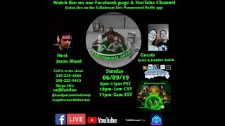 Paranormal Soup ep 181 guests Kevin and Jennifer Malek