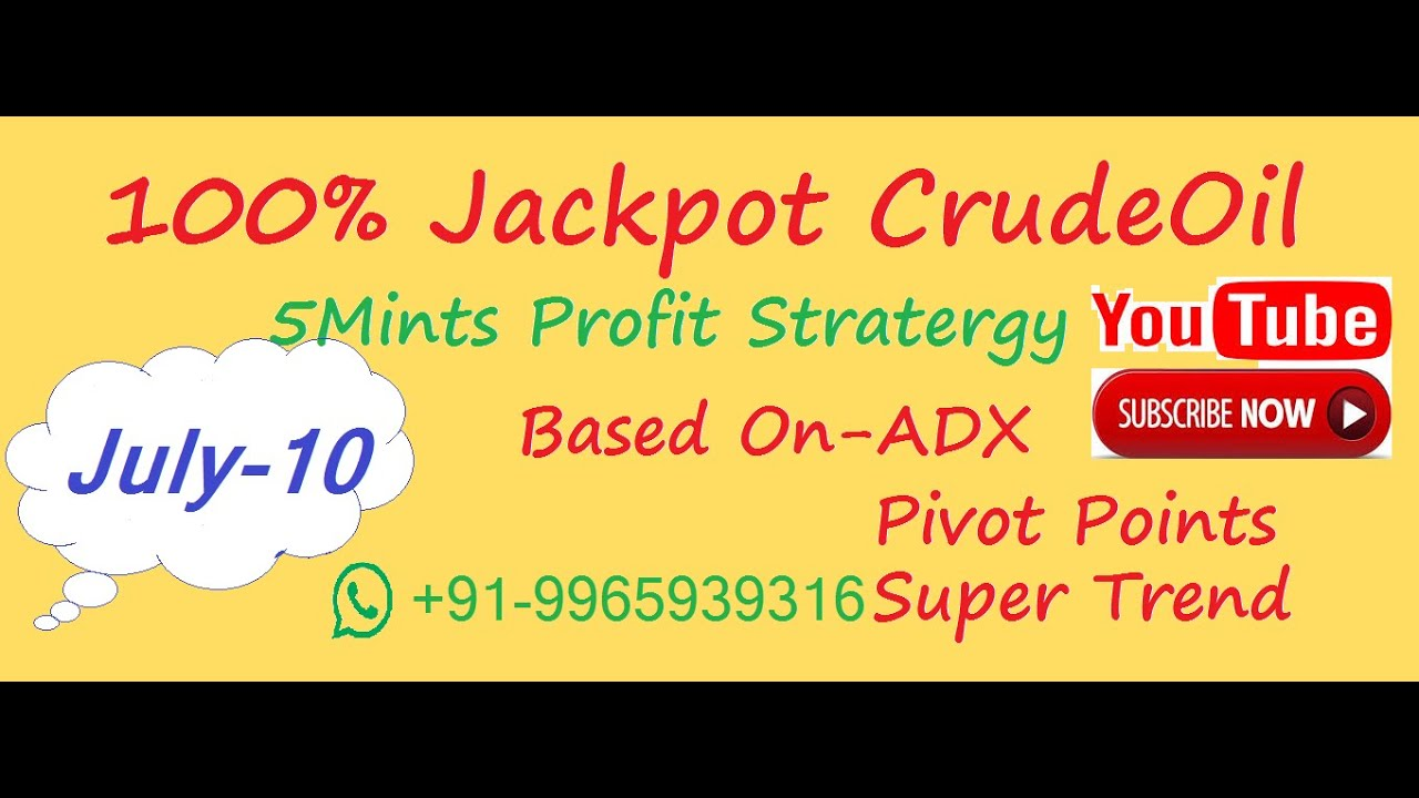 Crudeoil/gold/silver/Ng live intraday tricks &daily profit Stratergy using best 5indicator in tamil