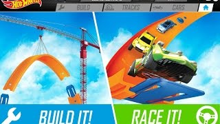 """HotWheels Track Builder """"Build The Epic Race"""" Gameplay Video"""