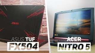 Acer Nitro 5 VS ASUS TUF FX504 2018! - Which Is The Best Gaming Laptop Under $700?