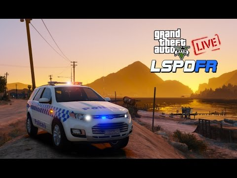 Grand Theft Auto V - LSPDFR Police Mods | LIVE! | VICPOL | ELS Ford Territory!