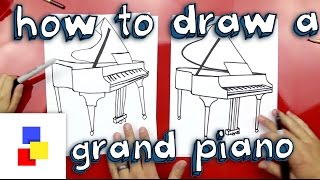 a piano for kids drawing lesson