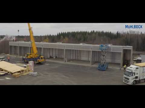Finland MB wood drying kilns Time Lapse Video TTSYSTEMS LTD