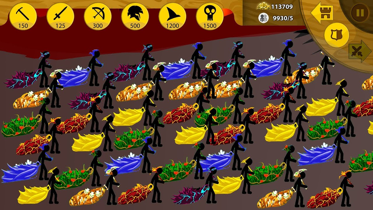 STICK WAR LEGACY - NO MINERS NO UPGRADED