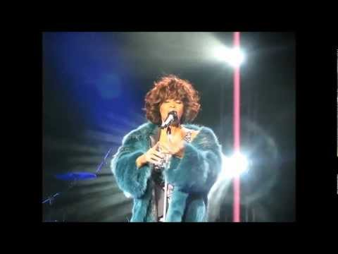 Whitney Houston Moscow live 2009