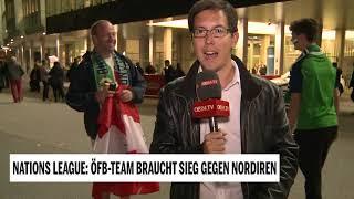 Österreich gegen Nordirland - Hochspannung vor dem Spiel