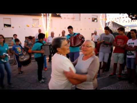 Concertinas Raízes da Beira, nas festas de Santa Ana, Cumeada