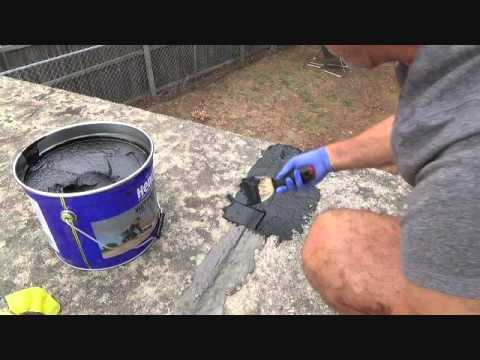 How to patch a roof