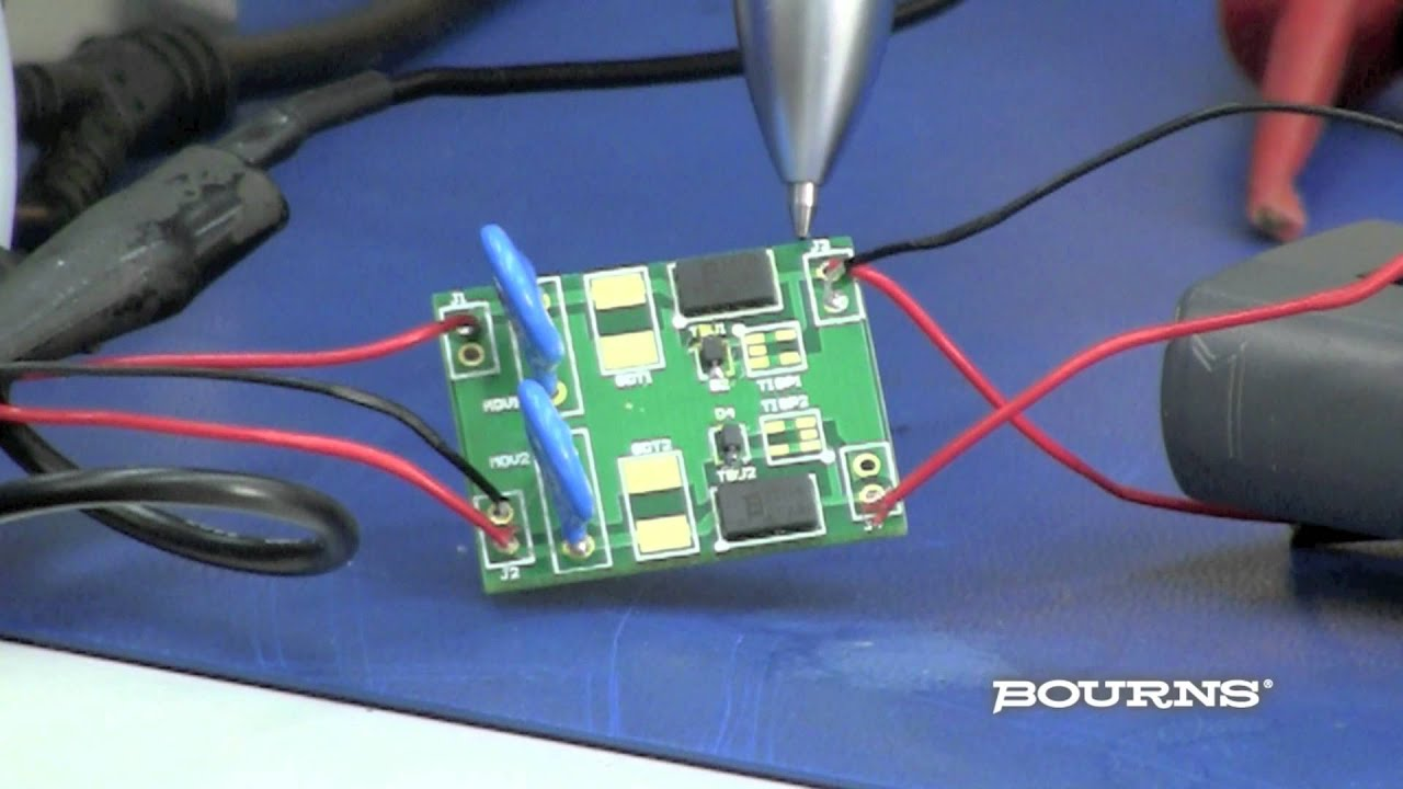 Bourns RS 485 Evaluation Board 2 - YouTube