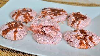 Печенье безе с орехами