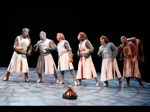 Monty Python's SPAMALOT (2016 - B-ROLL) North Shore Music Theatre