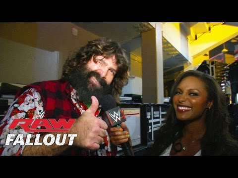 Mick Foley Has Been to Hell and Back - Raw Fallout, Oct. 20, 2014