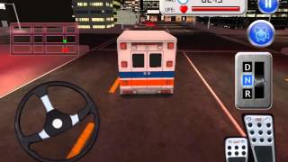 Ambulance Transport Parking 3D Simulation
