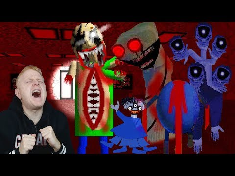 THANKS FOR THE NIGHTMARES | BALDI'S BASICS THE OLD LABORATORY OF FAILURE EXPERIMENTS V 1.3