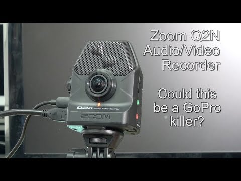 Zoom Q2N Audio/Video Recorder. Could This Be A GoPro Killer?