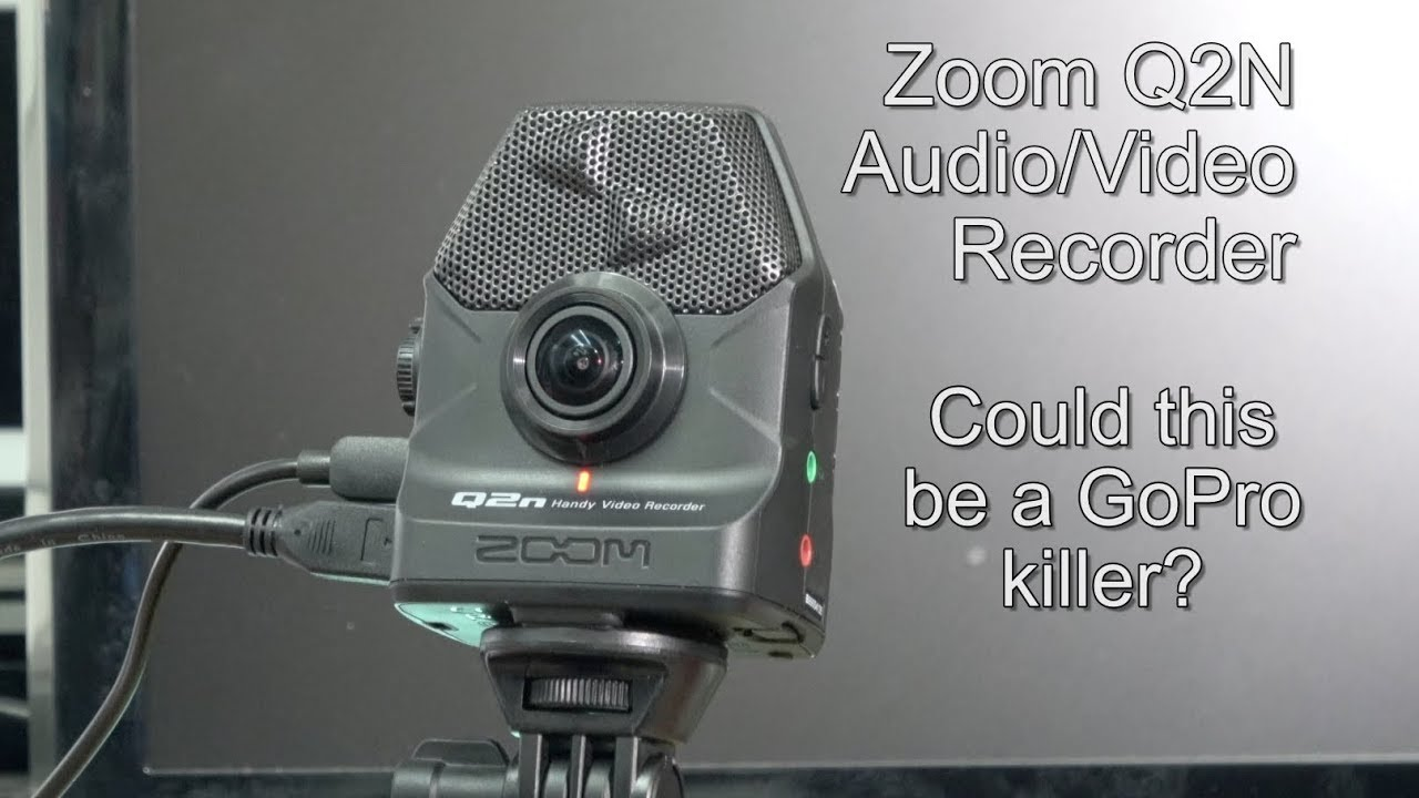 Zoom Q2n Audio  Video Recorder  Could This Be A Gopro Killer