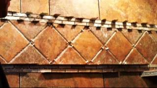 Shower Remodel Bathroom Tile Stone Countertops Large Walk-in Colorado Springs Monument Co