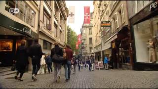 Lausanne in der Schweiz | Euromaxx City