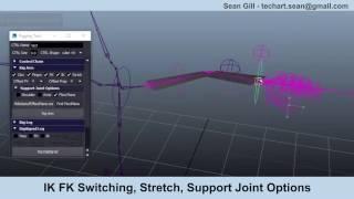 Modular Auto Rig Tool