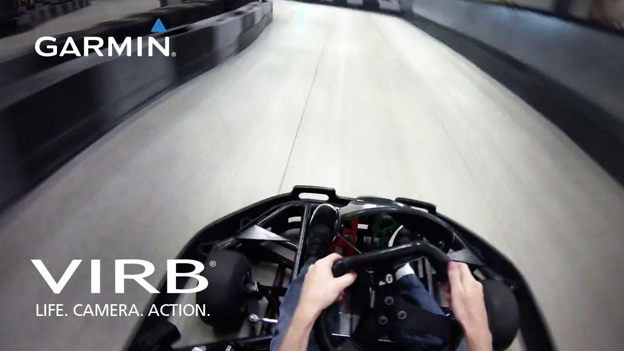 Garmin Virb Go Kart Youtube
