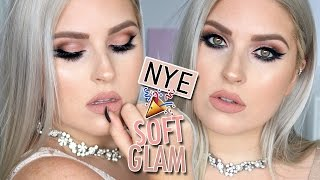 glam flirty eyeshadow makeup tutorial perfect for parties